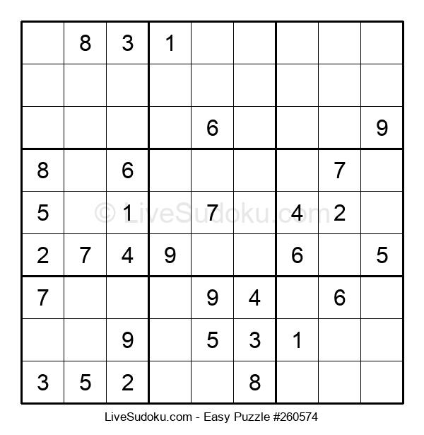 Beginners Puzzle #260574