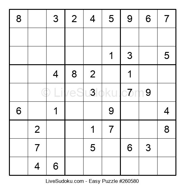 Beginners Puzzle #260580