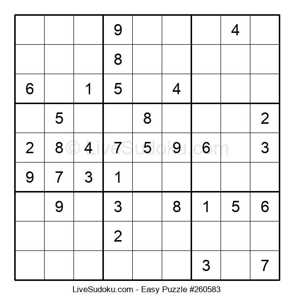 Beginners Puzzle #260583