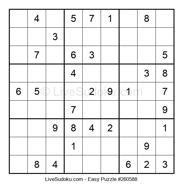 Beginners Puzzle #260588