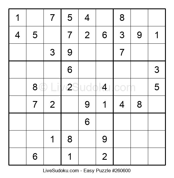 Beginners Puzzle #260600