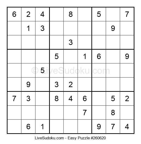 Beginners Puzzle #260620