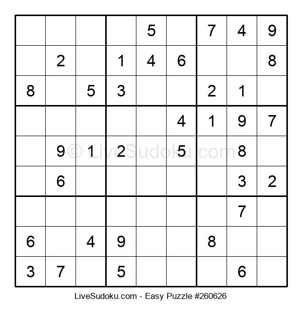 Beginners Puzzle #260626