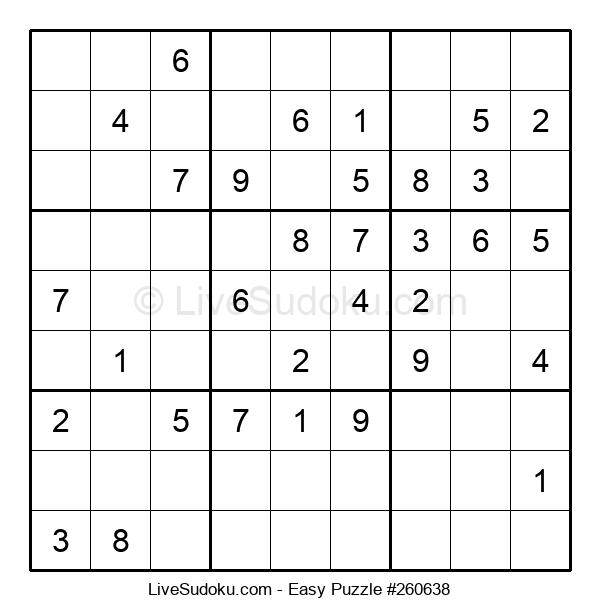 Beginners Puzzle #260638