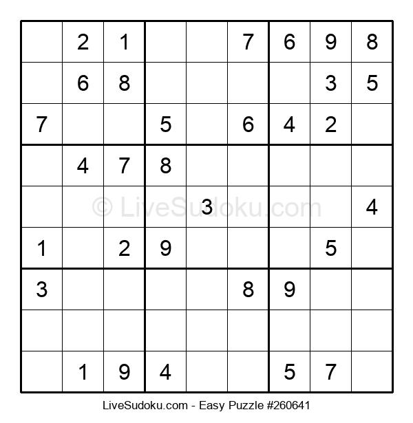 Beginners Puzzle #260641