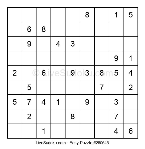 Beginners Puzzle #260645