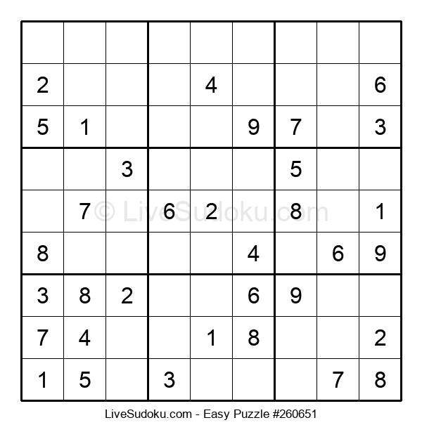 Beginners Puzzle #260651