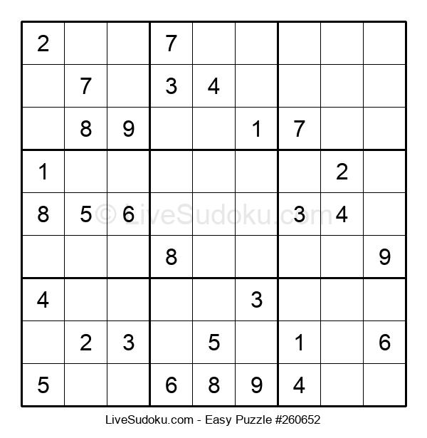 Beginners Puzzle #260652