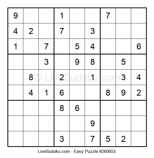 Beginners Puzzle #260653