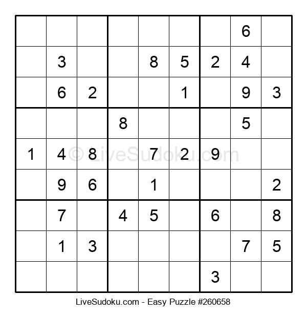 Beginners Puzzle #260658