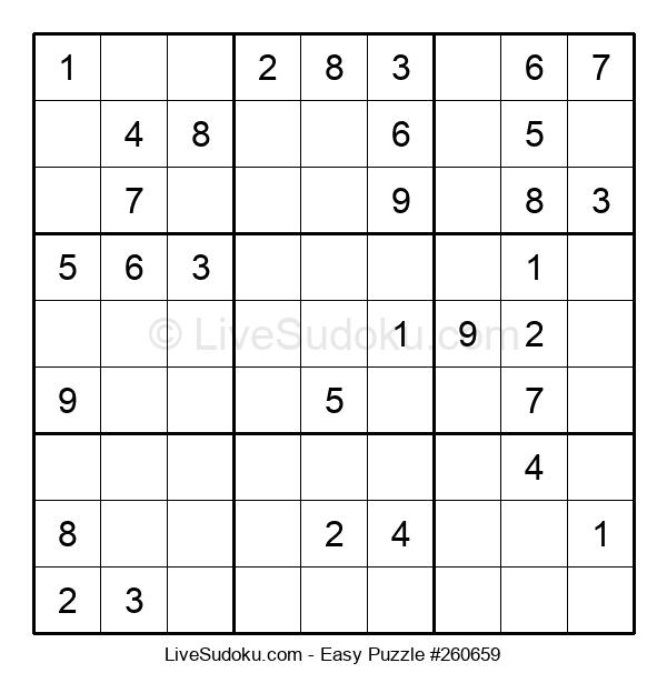 Beginners Puzzle #260659
