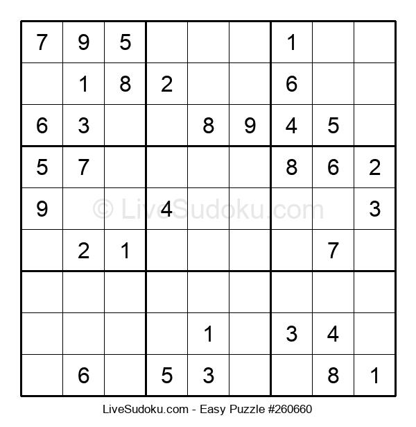 Beginners Puzzle #260660