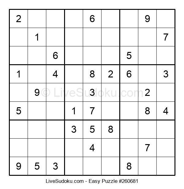 Beginners Puzzle #260681