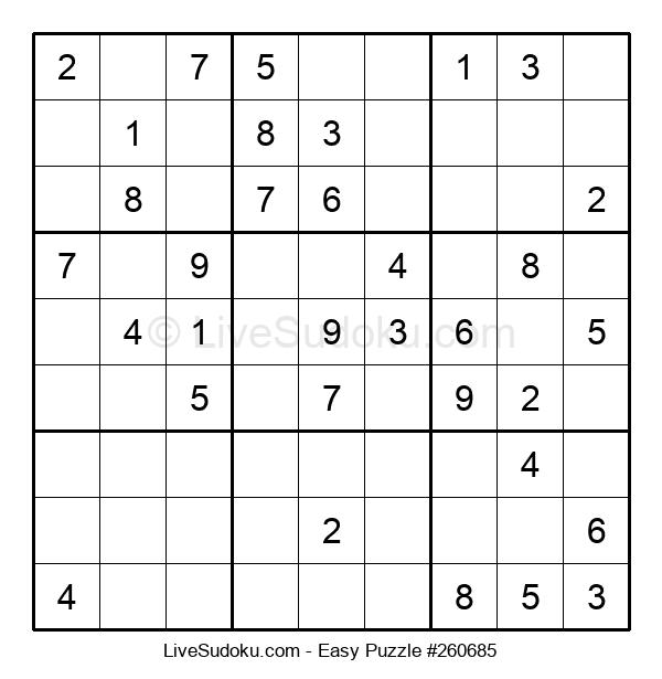 Beginners Puzzle #260685