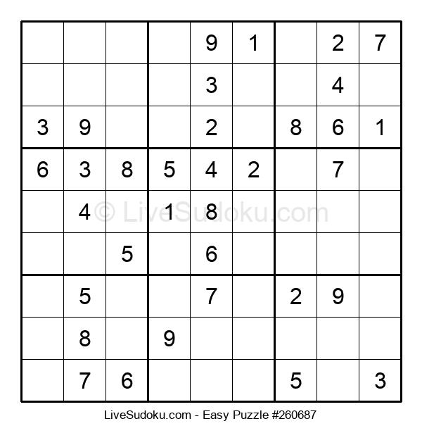 Beginners Puzzle #260687