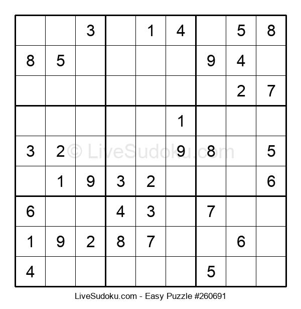 Beginners Puzzle #260691