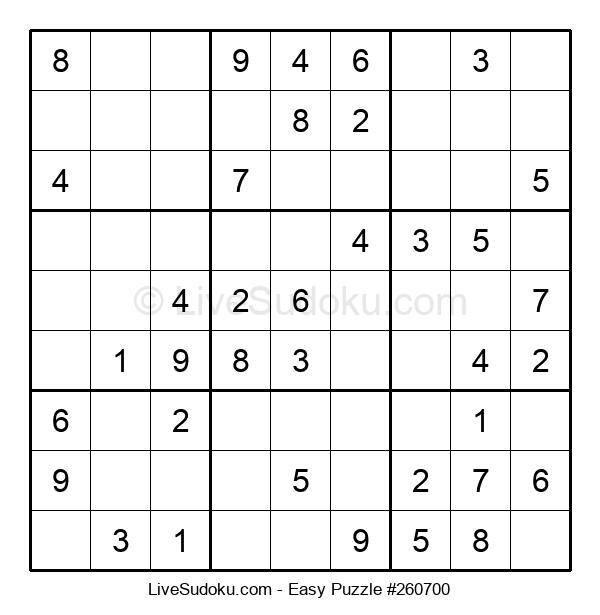 Beginners Puzzle #260700
