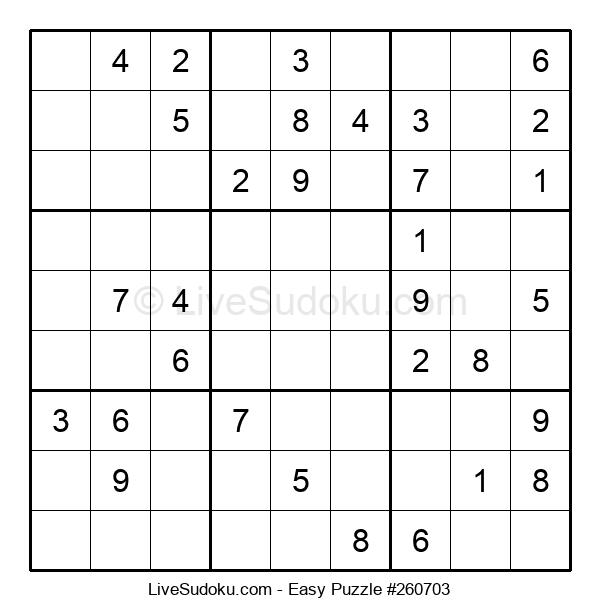 Beginners Puzzle #260703
