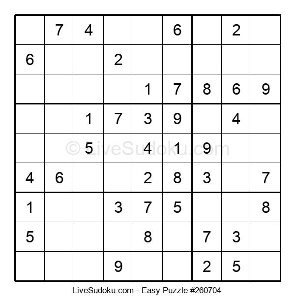Beginners Puzzle #260704