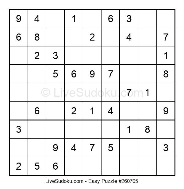 Beginners Puzzle #260705