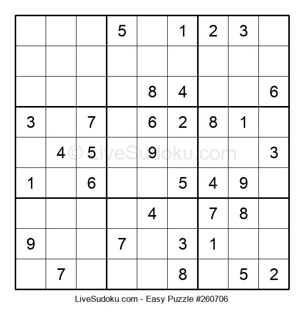 Beginners Puzzle #260706