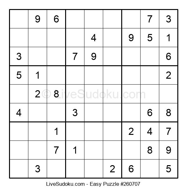 Beginners Puzzle #260707