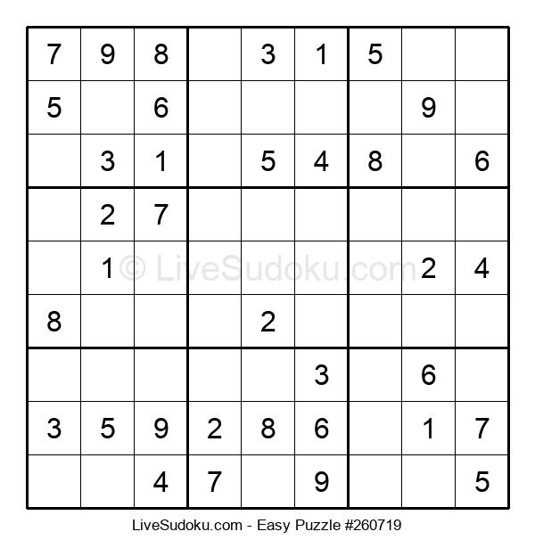 Beginners Puzzle #260719