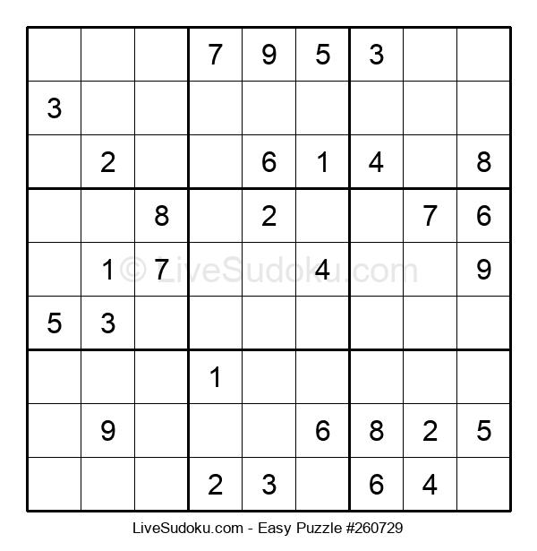 Beginners Puzzle #260729