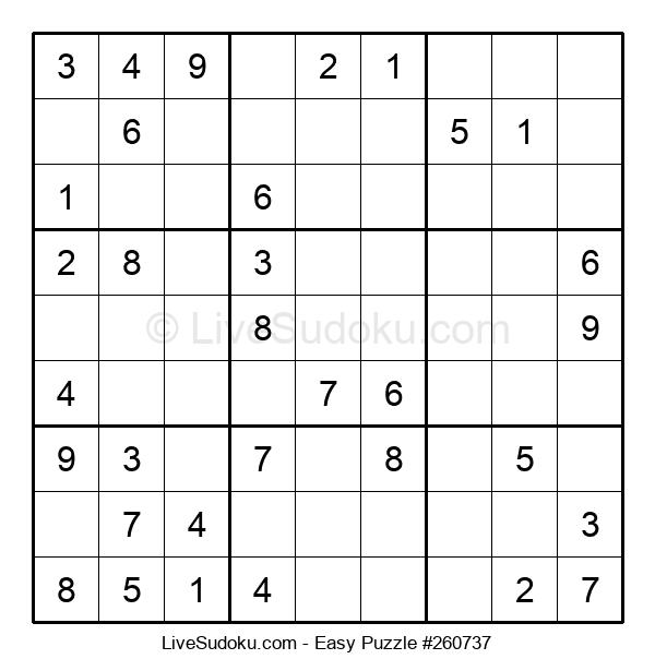 Beginners Puzzle #260737