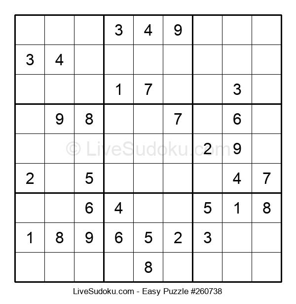 Beginners Puzzle #260738