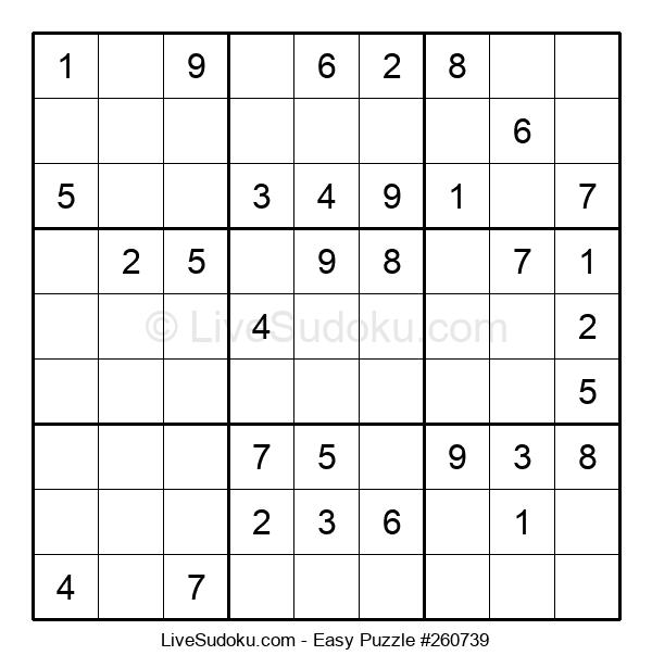 Beginners Puzzle #260739