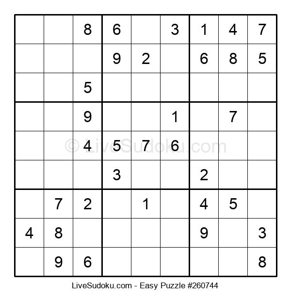 Beginners Puzzle #260744