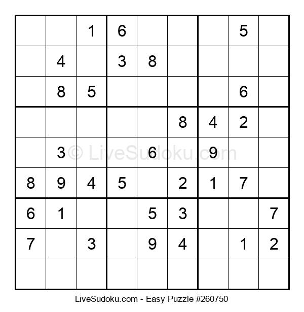 Beginners Puzzle #260750