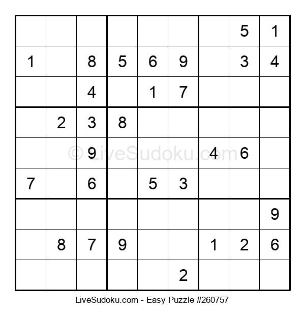 Beginners Puzzle #260757