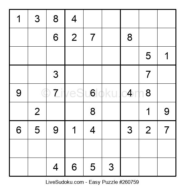 Beginners Puzzle #260759
