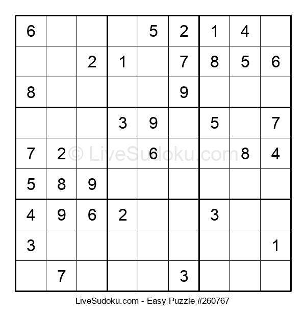 Beginners Puzzle #260767