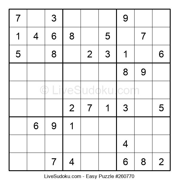 Beginners Puzzle #260770