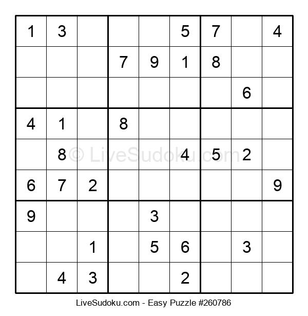 Beginners Puzzle #260786