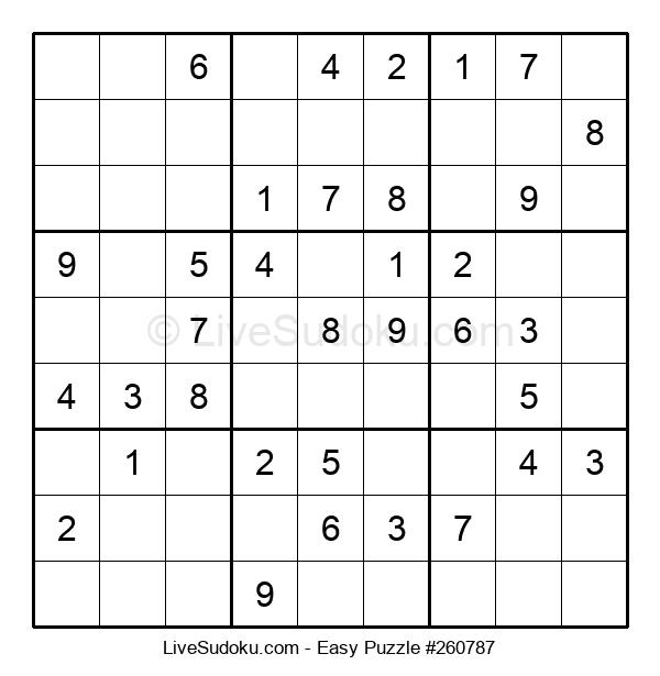 Beginners Puzzle #260787