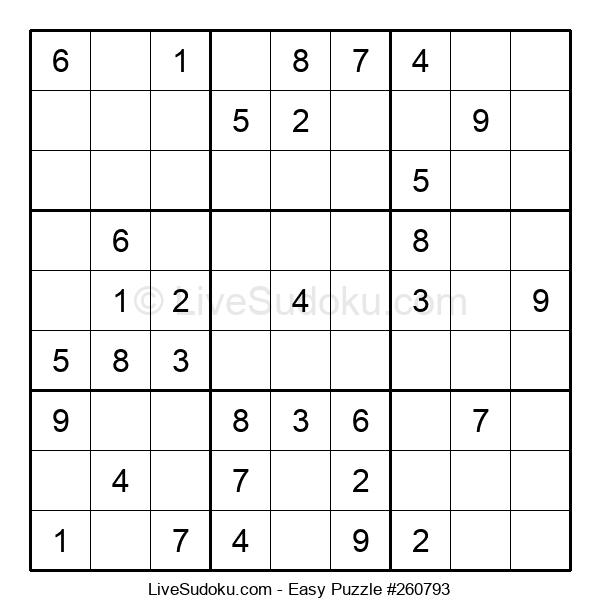 Beginners Puzzle #260793