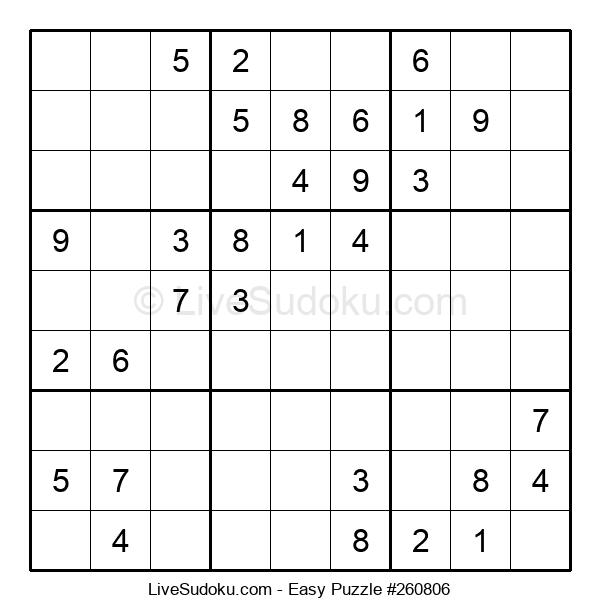 Beginners Puzzle #260806