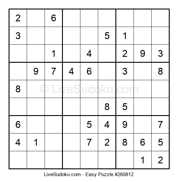 Beginners Puzzle #260812