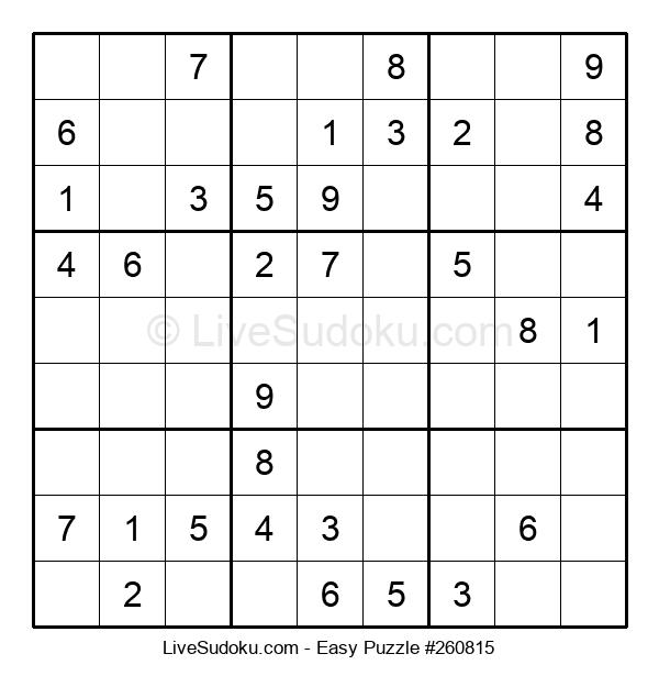 Beginners Puzzle #260815