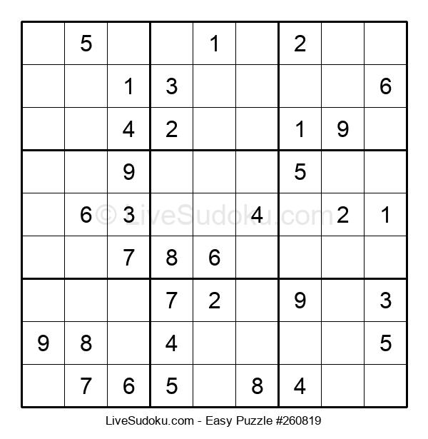 Beginners Puzzle #260819