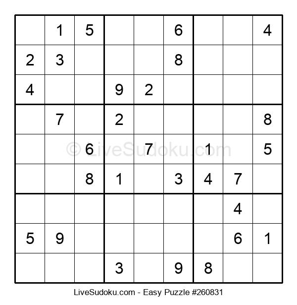 Beginners Puzzle #260831