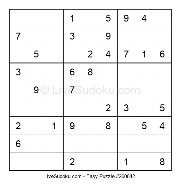 Beginners Puzzle #260842