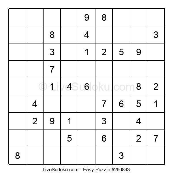 Beginners Puzzle #260843