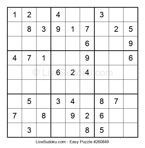 Beginners Puzzle #260849