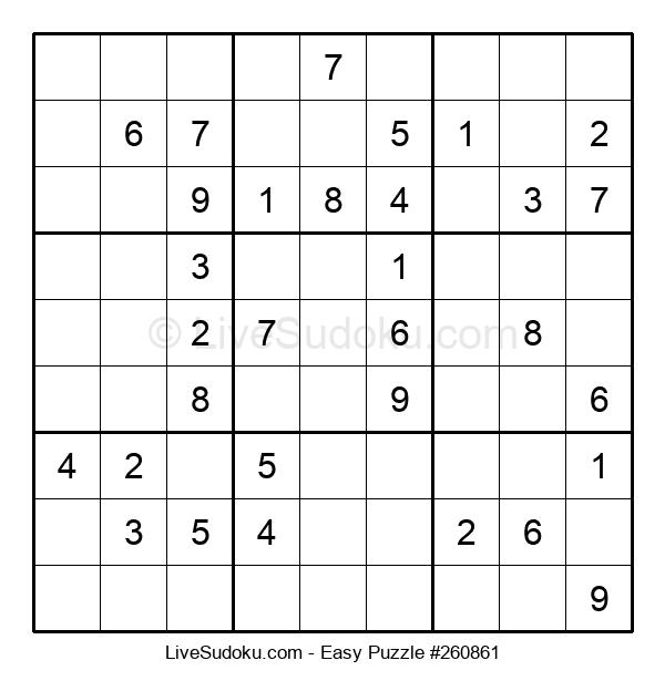 Beginners Puzzle #260861
