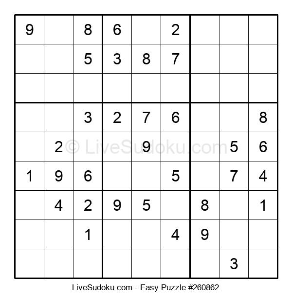 Beginners Puzzle #260862